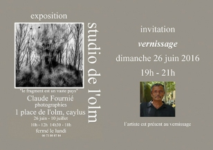 Mail invitation-vernissage