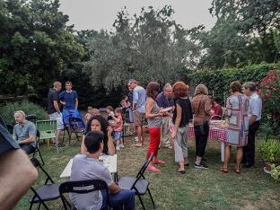 soirée chez Régine Bedin Expo toros y piqueros
