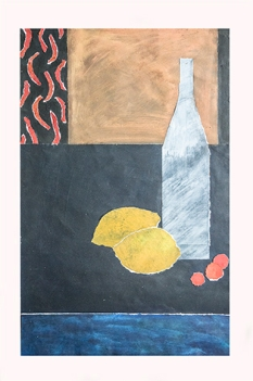 La bouteille et les citrons (format32x50)
