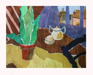La plante verte (format 35x45)